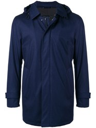 Dell'oglio Hooded Coat Blue