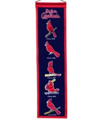 Winning Streak St. Louis Cardinals Heritage Banner Navy Red