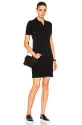 Ag Adriano Goldschmied Lane Polo Dress In Black