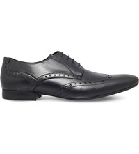 Hudson Franklin Leather Derby Brogues Black
