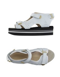 Preen By Thornton Bregazzi Footwear Sandals Women White