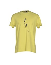 Guess By Marciano Topwear T Shirts Men Acid Green