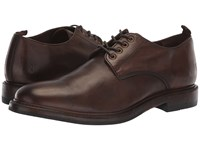 Frye Murray Oxford Brown Washed Dip Dye Leather Shoes