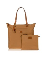 Bric's X Bag Large 3 In One Tote Bag Caramel