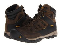 Keen Utility Tucson Mid Black Olive Burnt Olive Men's Work Lace Up Boots Brown