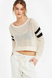 Bdg Ruby Striped Sweater Black And White