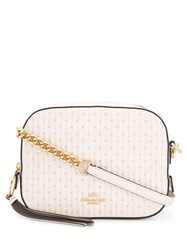 Coach Camera Quilted Bag White