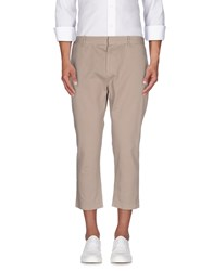 0051 Insight Trousers 3 4 Length Trousers Men Beige