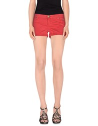 Atelier Fixdesign Trousers Shorts Women Red