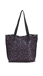 Le Sport Sac Lesportsac Madison Reversible Tote Ditsy Floral