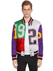 Php Reversible Patchwork And Leather Jacket