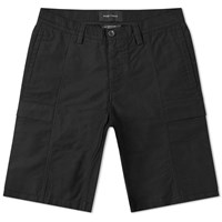 Wings Horns Utility Cotton Cargo Short Black