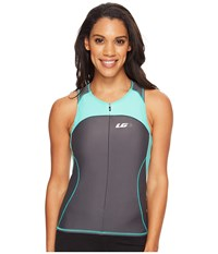 Louis Garneau Women Comp Sleeveless Asphalt Mojito Women's Sleeveless Gray