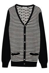 Paul And Joe Fish Print Cardigan