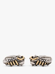 Paul Smith Football Boot Cufflinks Silver Gold