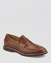 Sperry Gold Bellingham Penny Loafers Tan