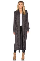 Riller And Fount Sage Cardigan Charcoal