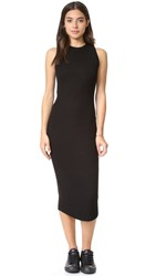 Getting Back To Square One The Sleeveless Sweater Dress Black