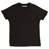 Shades Of Grey Vintage Black Rolled Cuff Pocket Tee