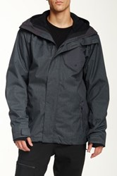 Quiksilver Missions Snow Jacket Gray