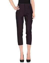 Tela Casual Pants Deep Purple