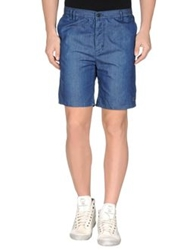 0051 Insight Denim Bermudas Blue