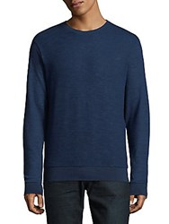 Hyden Yoo Long Sleeve Sweatshirt Navy