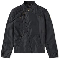 Belstaff X Sophnet. Nylon Rebel Jacket Black