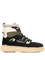 Buscemi Lace Up Winter Boots 60