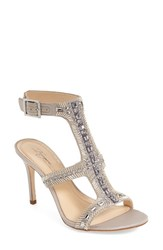 Imagine By Vince Camuto Women's Imagine Vince Camuto 'Price' Beaded T Strap Sandal 4' Heel