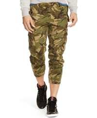 Polo Ralph Lauren Straight Fit Camouflage Twill Cargo Pants
