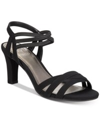 Impo Vanish Stretch Strappy Dress Sandals Women's Shoes Black