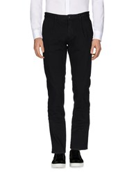 Hydrogen Casual Pants Black