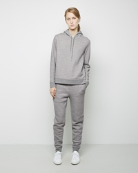 Alexander Wang Cotton Twill French Terry Sweatpants Heather Grey