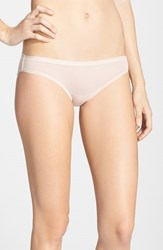 Ongossamer Women's On Gossamer Mesh Bikini Bottoms Champagne Champ