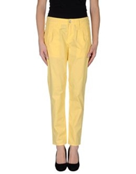 Cycle Casual Pants Yellow