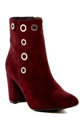 Modern Rebel Fatin Faux Fur Lined Boot Red