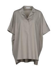 Rosso35 Blouses Light Grey