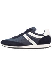 Boss Orange Adrenal Trainers Dark Blue