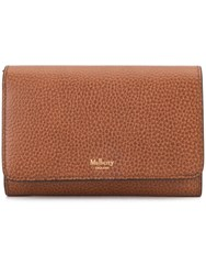 Mulberry Grained Purse Brown
