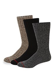 Ugg Three Pack Classic Crew Socks Multi