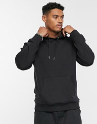 Only And Sons Oversized Hoodie Sweat In Black
