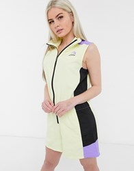 The North Face Extreme Playsuit In Yellow