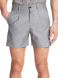 Versace Heathered Shorts Black