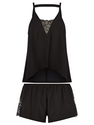 Bluebella Meena Cami And Short Set Black