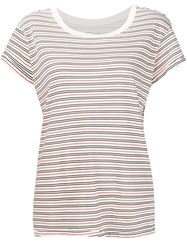 Current Elliott Striped T Shirt White