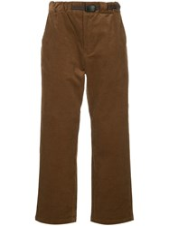 Guild Prime Corduroy Straight Trousers Brown