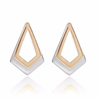 Neola Rose Gold And Sterling Silver Earrings Serenity