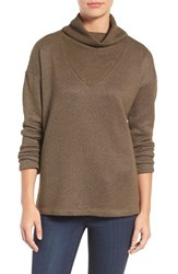 Sanctuary Women's 'Dunaway' Cowl Neck Pullover Fatigue