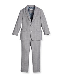 Appaman Modern Two Piece Suit Greign Plaid